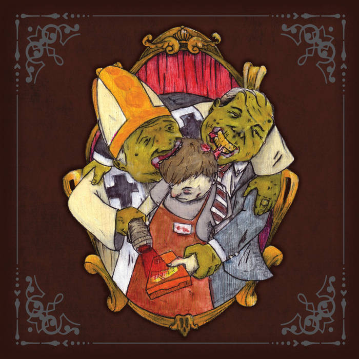 Brain Food LP (Side A) cover art