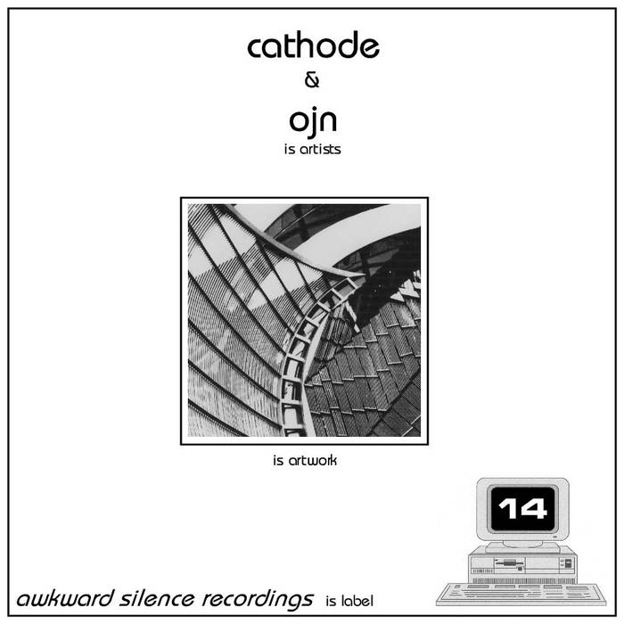 Cathode / Ojn - split EP cover art