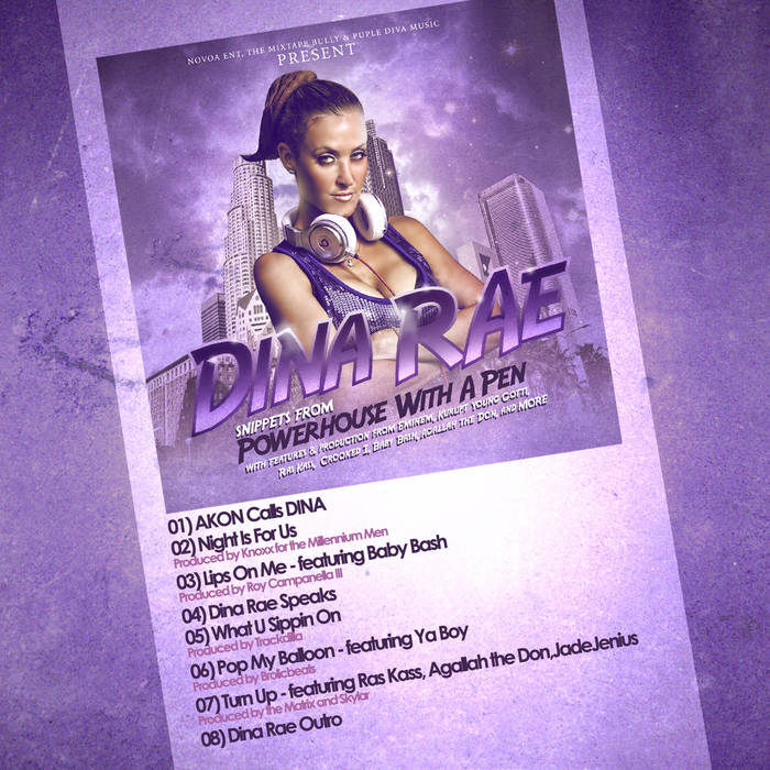 """Powerhouse With a Pen"" Mixtape Sampler cover art"