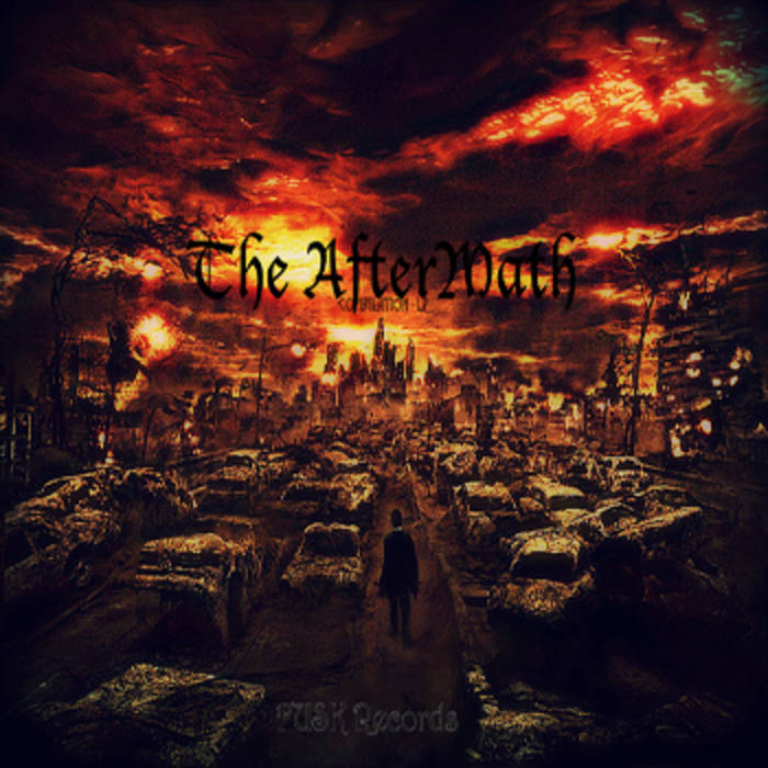 Fusk Records' The Aftermath cover art