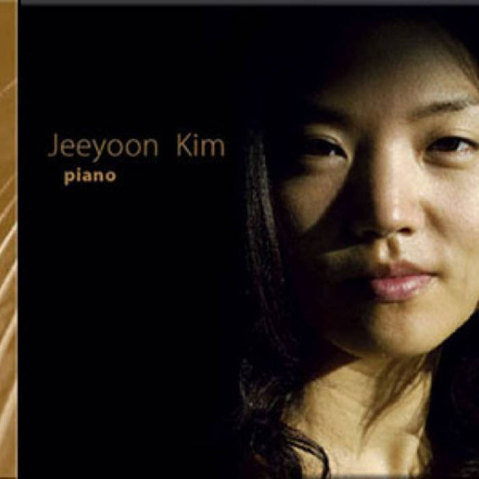 Jeeyoon Kim, classical pianist cover art
