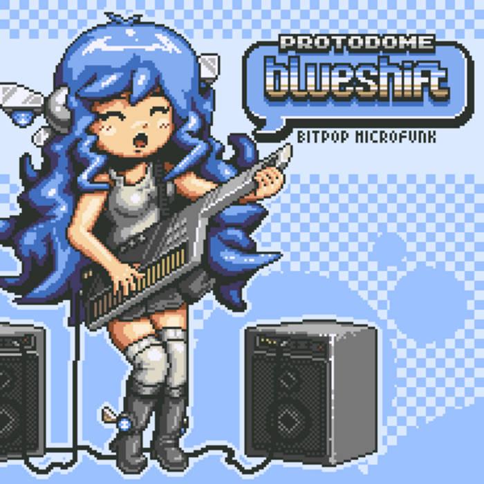 BLUESHIFT cover art