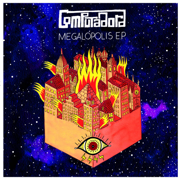 MEGALÓPOLIS EP cover art