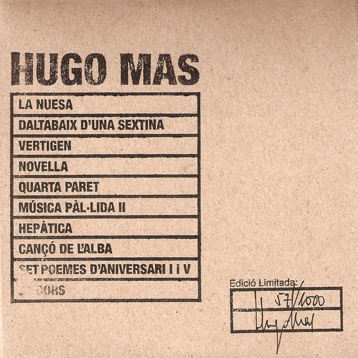 Hugo Mas cover art