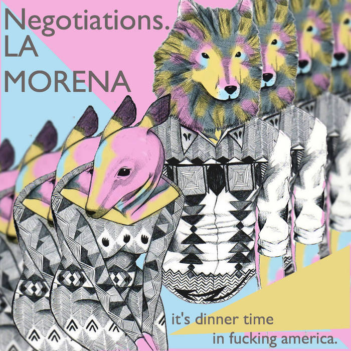 It's Dinner Time in Fucking America cover art