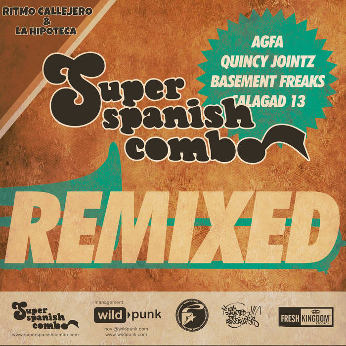 Super Spanish Combo Remixed cover art