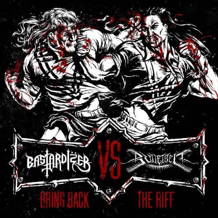 """Bring Back The Riff (Split 7"""") cover art"""