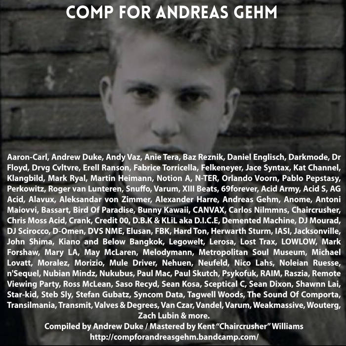 Comp For Andreas Gehm cover art
