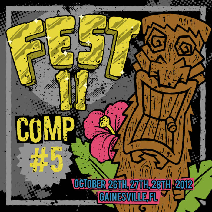 FEST11 Comp '5 minutes to FEST' cover art