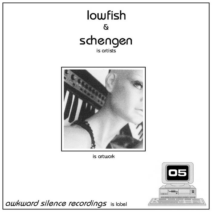 Lowfish / Schengen - split EP cover art