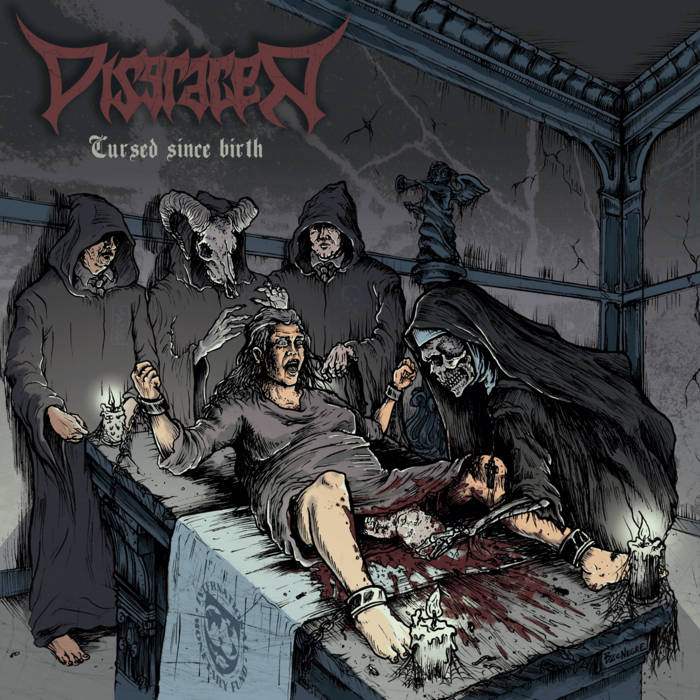 Cursed since birth (2014) cover art