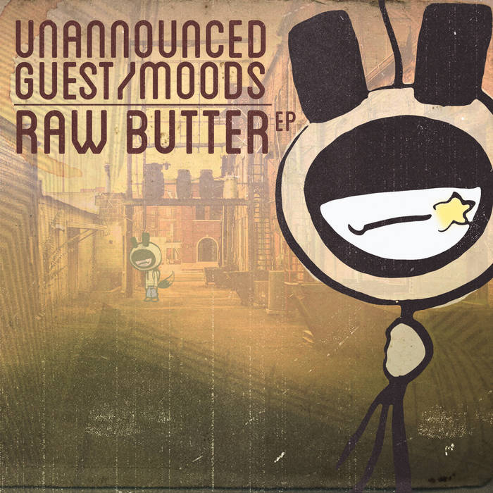 Raw Butter E.P. cover art