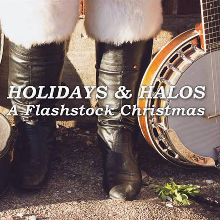 Holidays and Halos, A Flashstock Christmas cover art