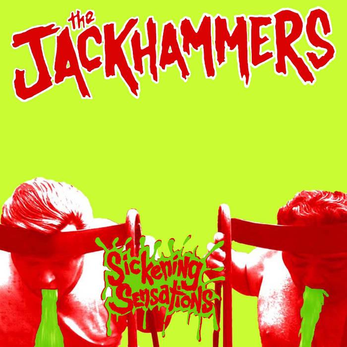 """Sickening Sensations 7"""" cover art"""