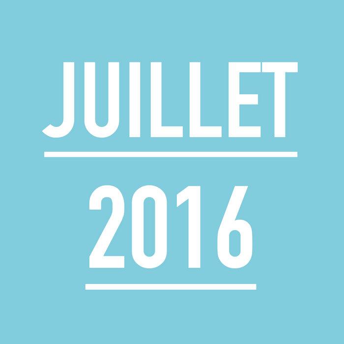 JUILLET 2016 cover art