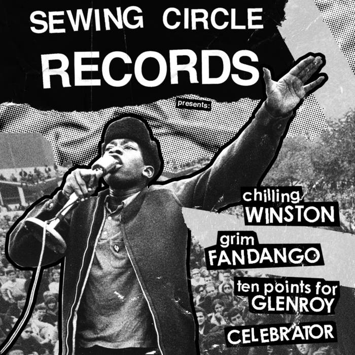Sewing Circle Records 4-Way Split cover art