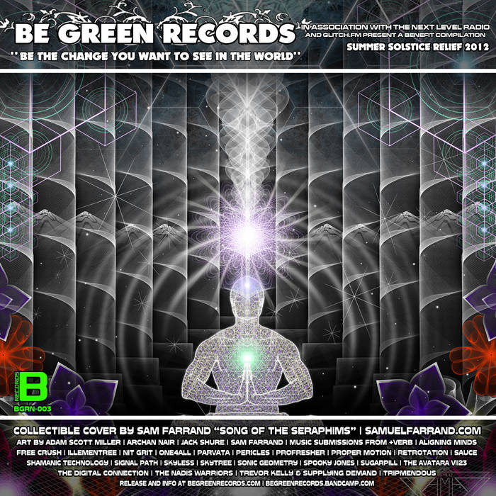 BGRN-003 - Be The Change You Want To See In The World - WAV44116 Digital Release cover art