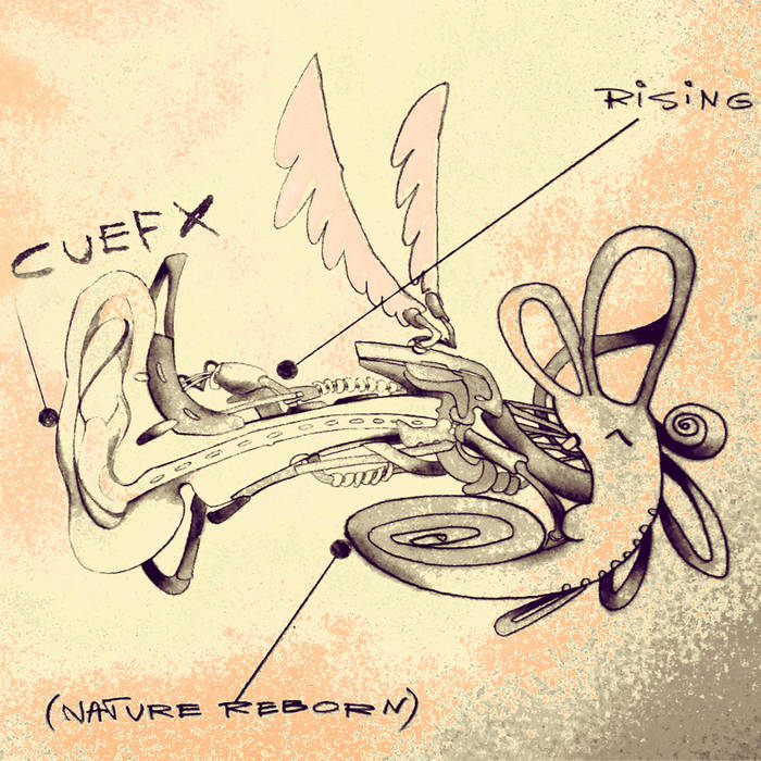 Cuefx - Rising (nature reborn) cover art