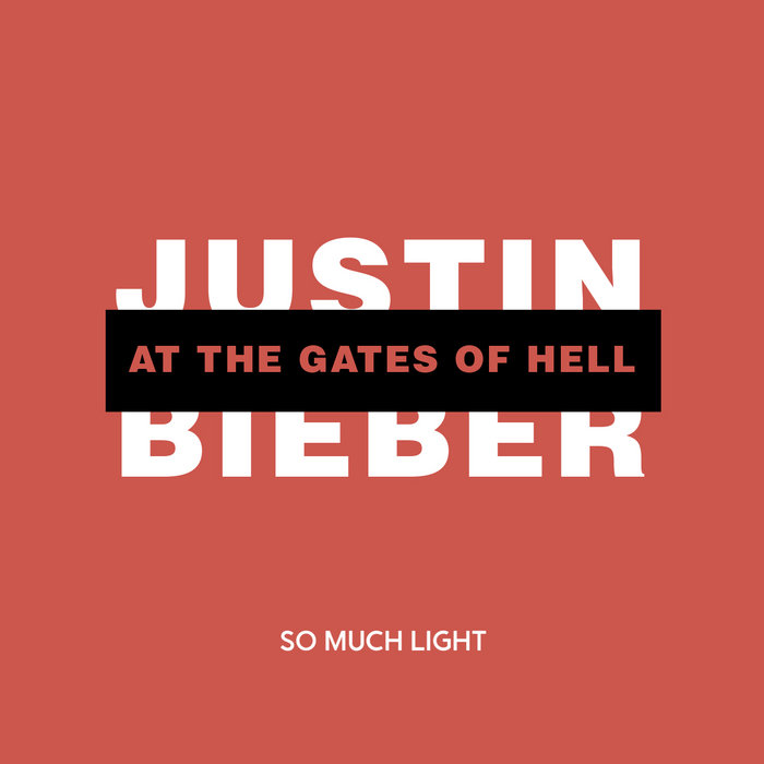Justin Bieber at the Gates of Hell cover art