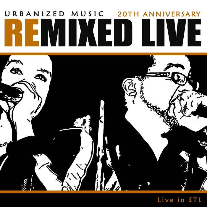 Urbanized Remixed Live 20th Anniversary cover art