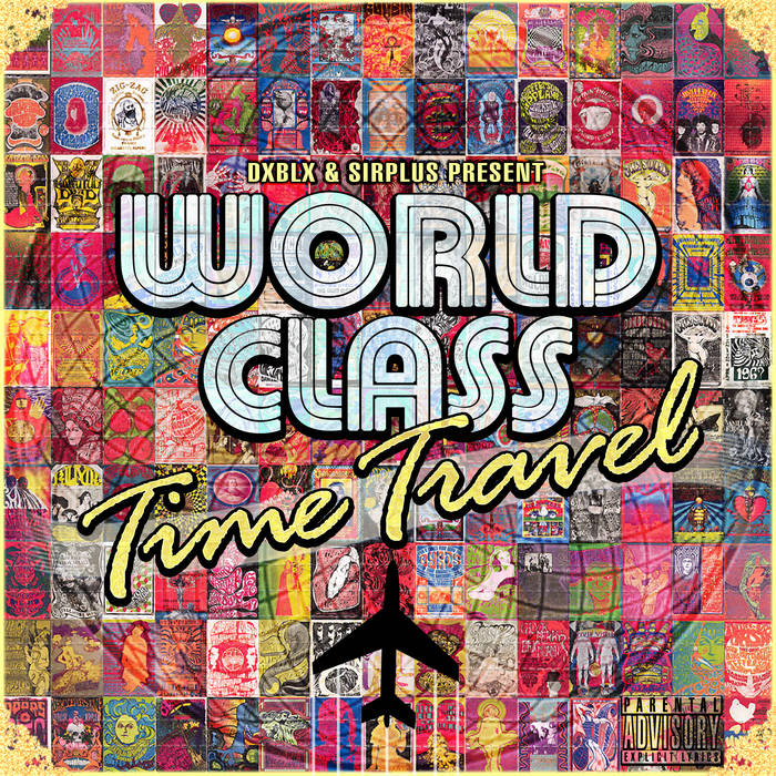 WORLD CLASS TIME TRAVEL cover art