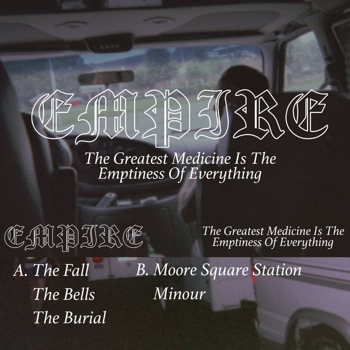 The Greatest Medicine Is The Emptiness Of Everything cover art