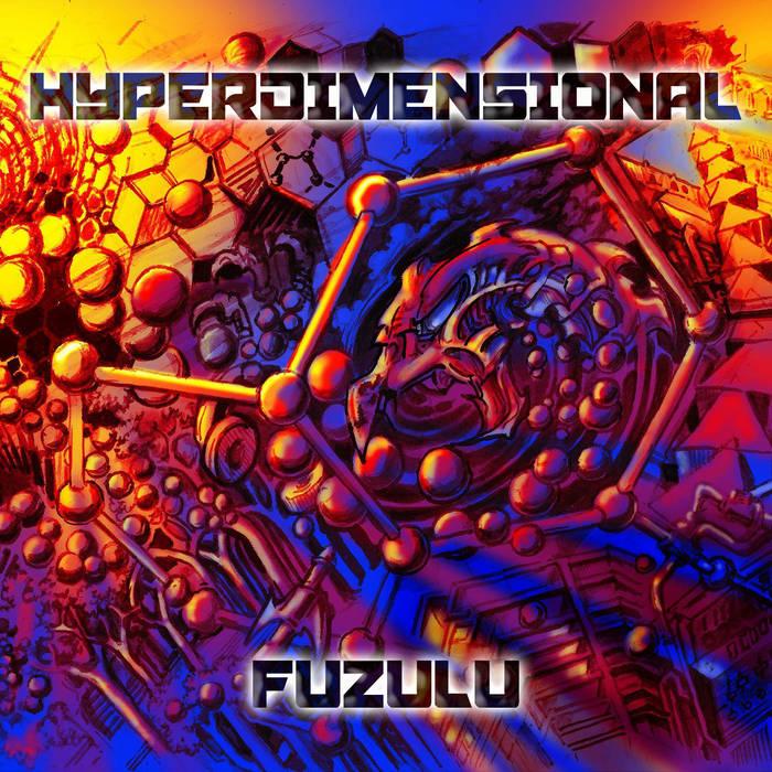 Hyperdimensional cover art