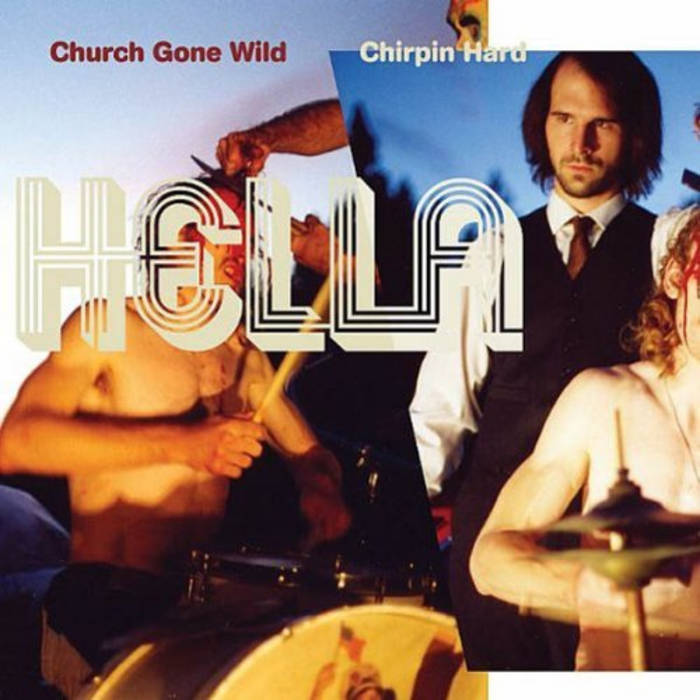 Church Gone Wild/Chirpin Hard cover art