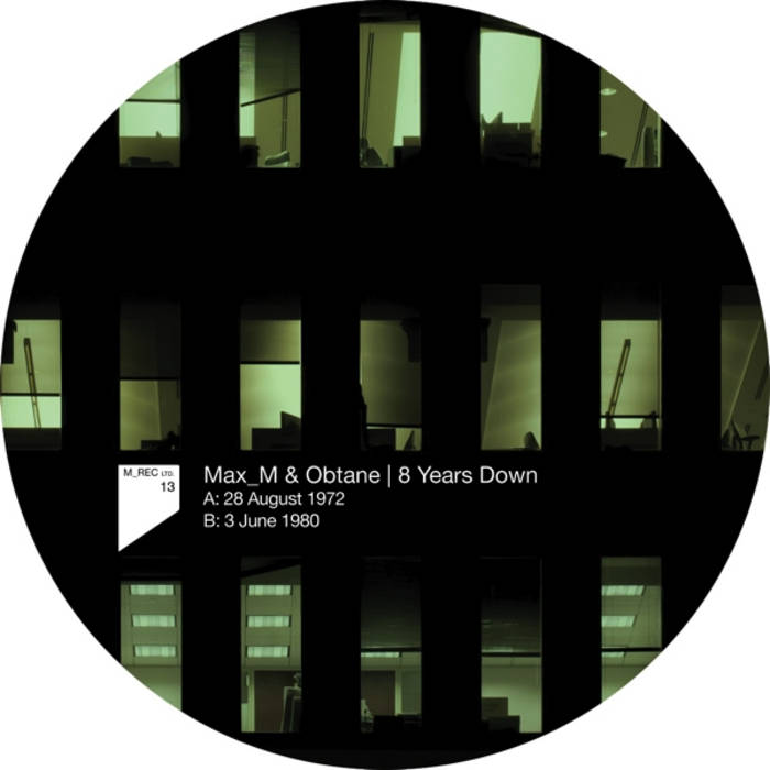 Max_M & Obtane - 8 Years Down (M_Rec Ltd 13) cover art