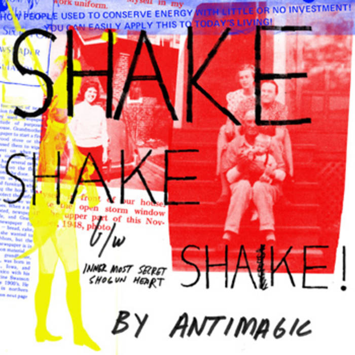 Shake Shake Shake / Inner Most Secret Shogun Heart Single cover art
