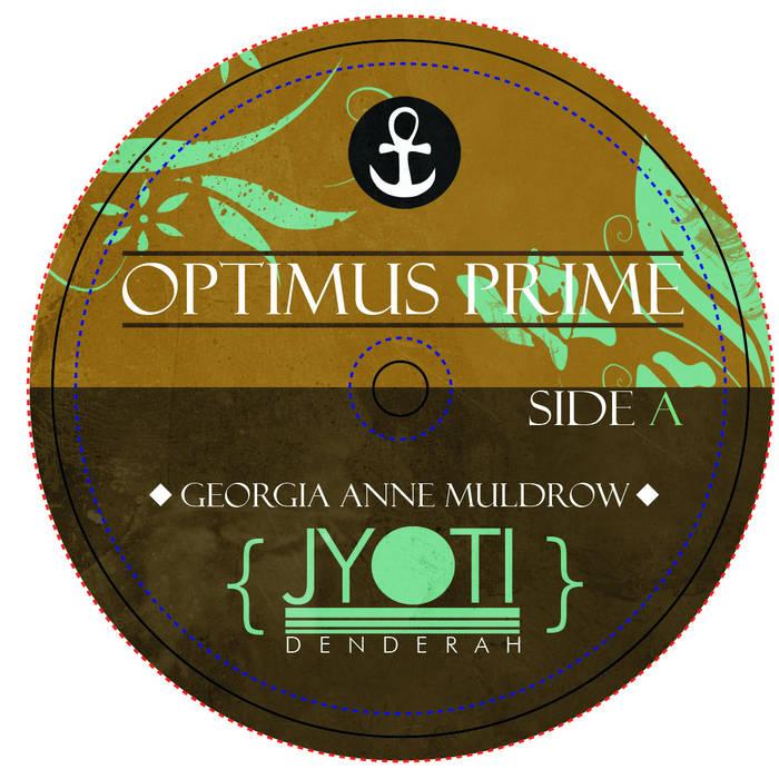 Optimus Prime b/w Conmigo cover art