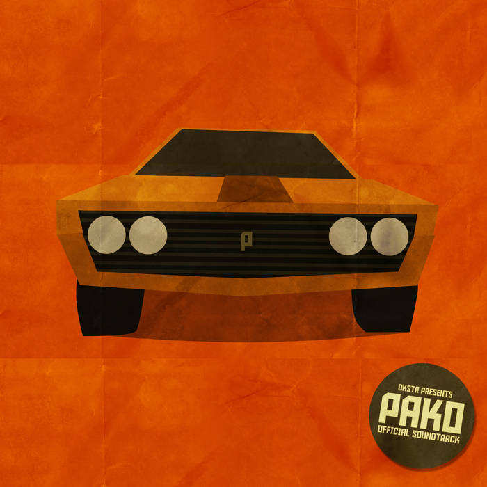 PAKO OST vol.1 cover art