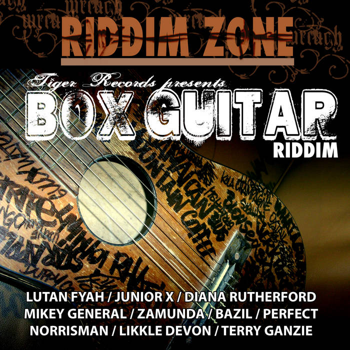 LP - BOX GUITAR RIDDIM cover art