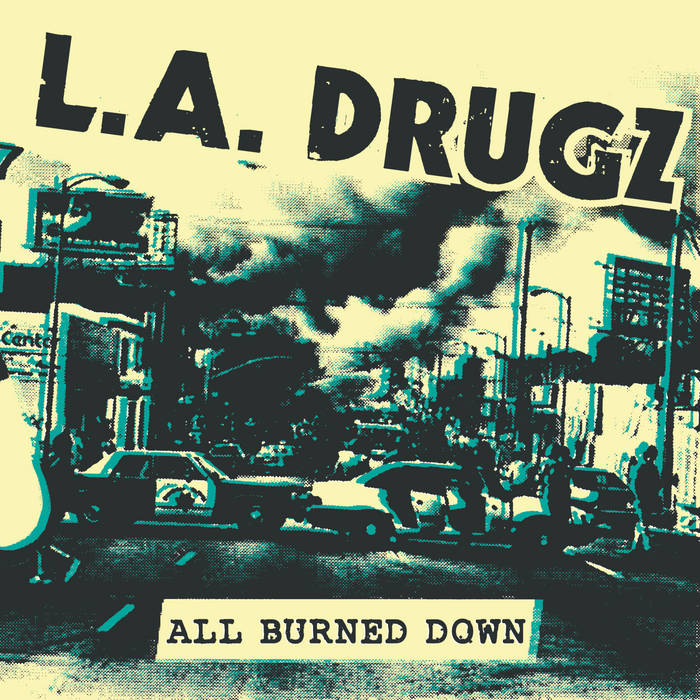 All Burned Down EP cover art