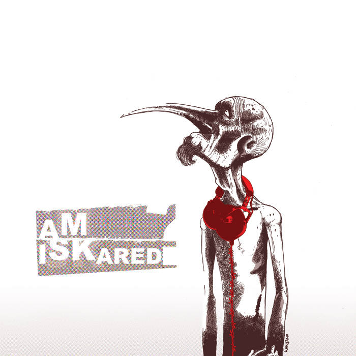 Am I scared? cover art
