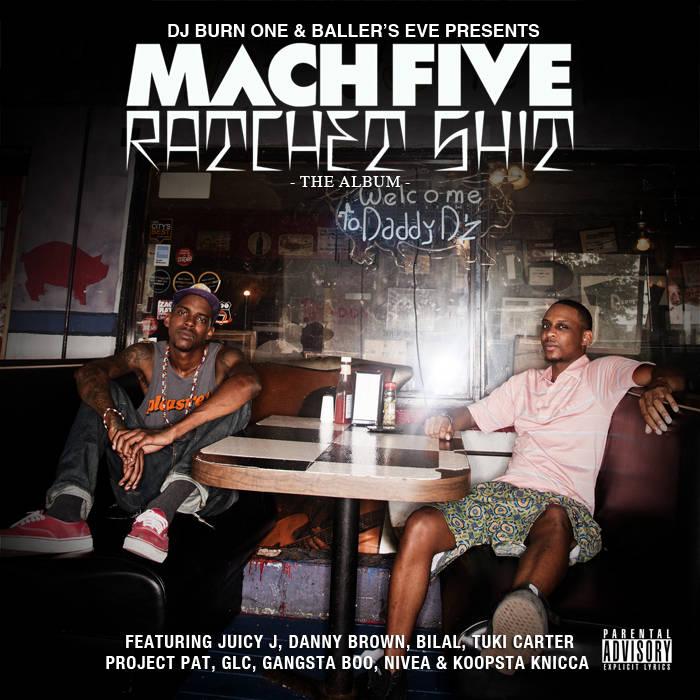 Ratchet Shit: The Album cover art