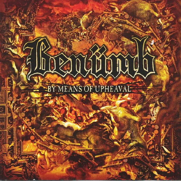 By Means of Upheaval cover art