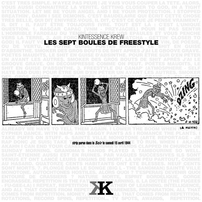 Les Sept Boules De Freestyle cover art