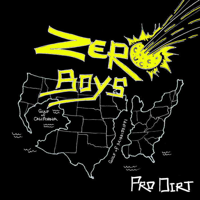 "Zero Boys ""Pro-Dirt"" cover art"