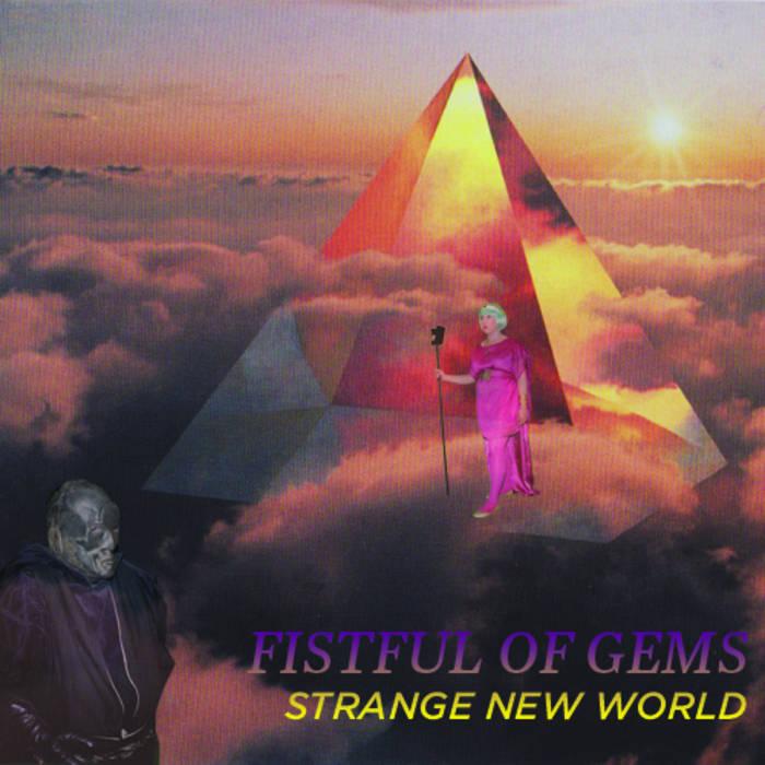 STRANGE NEW WORLD ep cover art