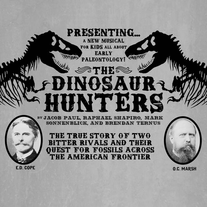 The Dinosaur Hunters cover art