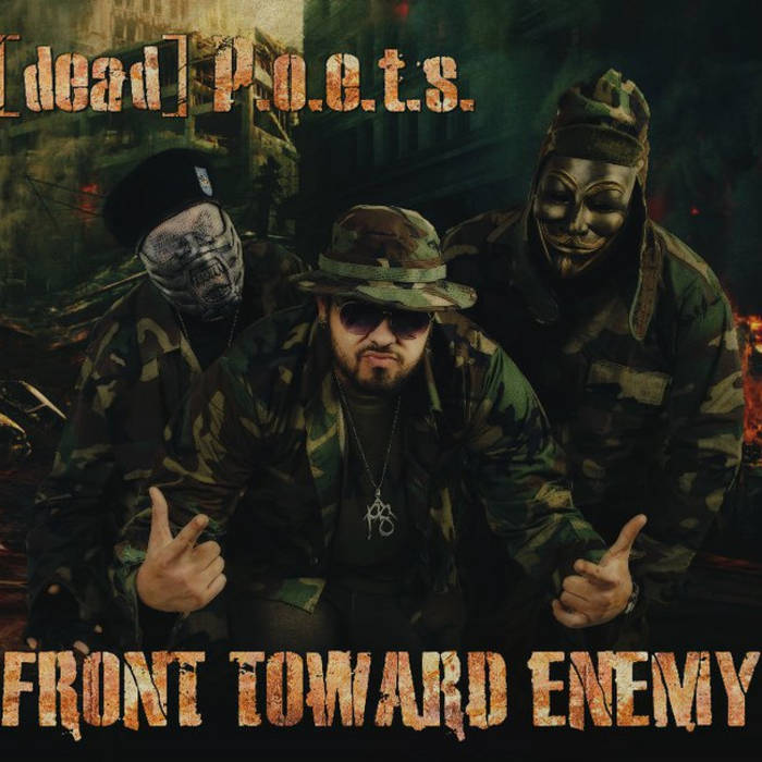 [dead]P.O.E.T.S-Front Toward Enemy cover art