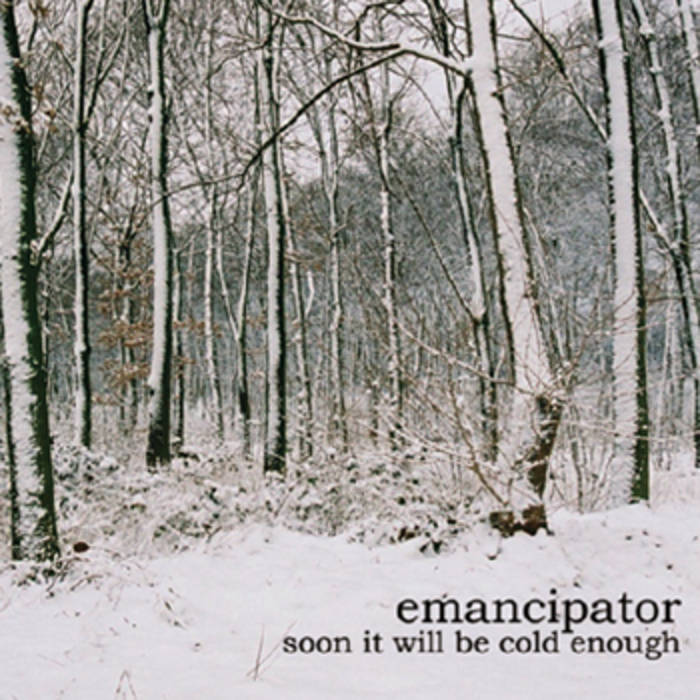 soon it will be cold enough cover art
