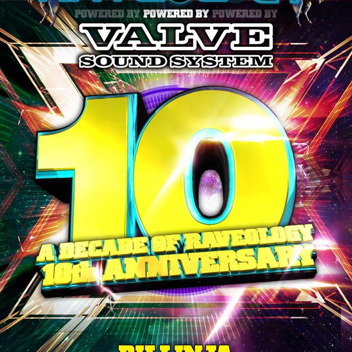 RAVEOLOGY 10TH BDAY - DILLINJA cover art