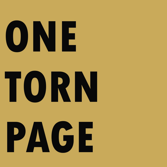 One Torn Page cover art