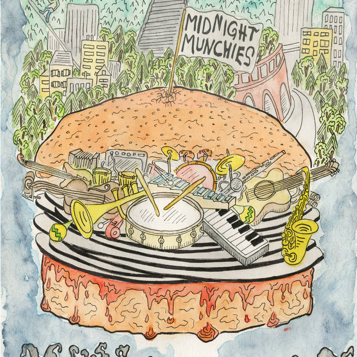 Midnight Munchies cover art