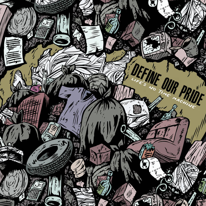 Life's No Time Machine EP cover art