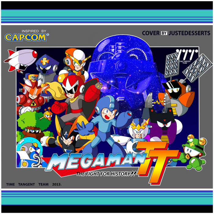 Mega Man Time Tangent - The Fight for History!! cover art