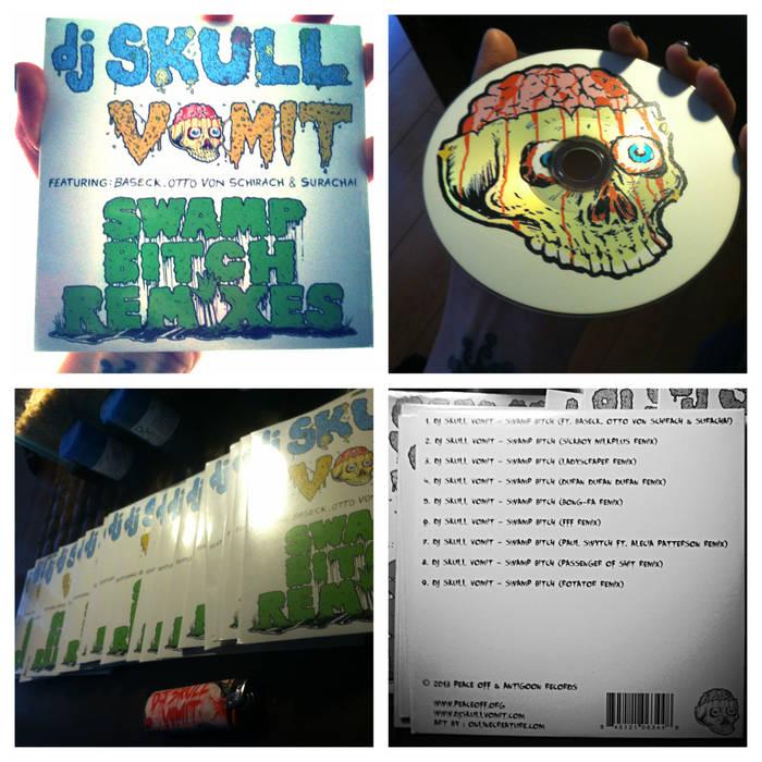 DJ Skull Vomit - Swamp Bitch Remixes cover art