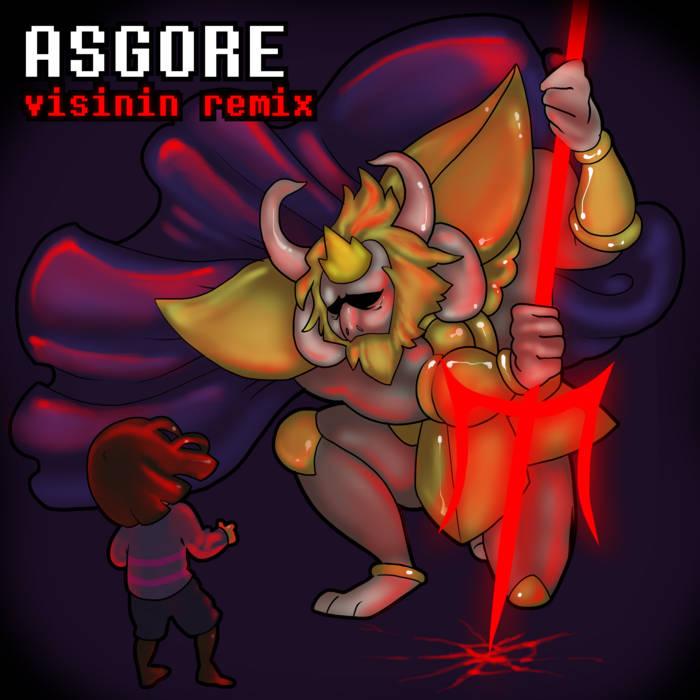 ASGORE (visinin remix) cover art